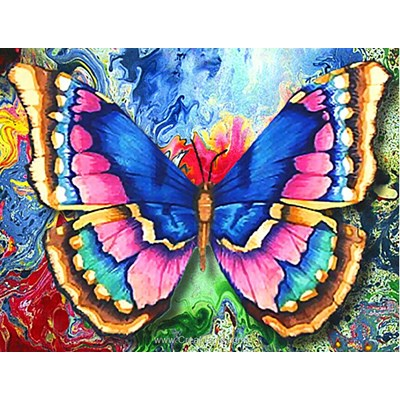 Kit broderie diamant butterfly - Diamond Painting