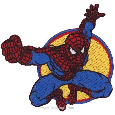 Ecusson thermocollant spiderman le héro - MLWD