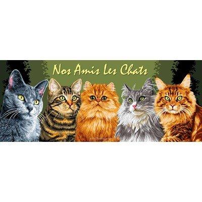 Canevas Luc Création nos amis les chats
