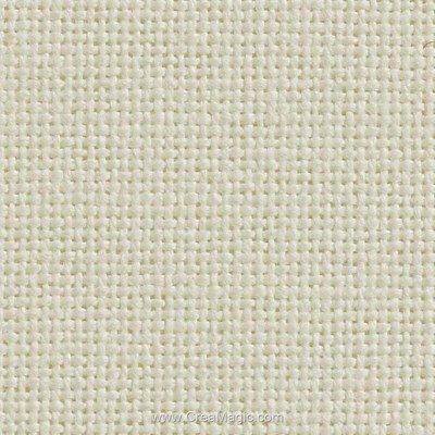 Toile etamine 11 fils blanc antique - monaco vierge à broder - Charles Craft