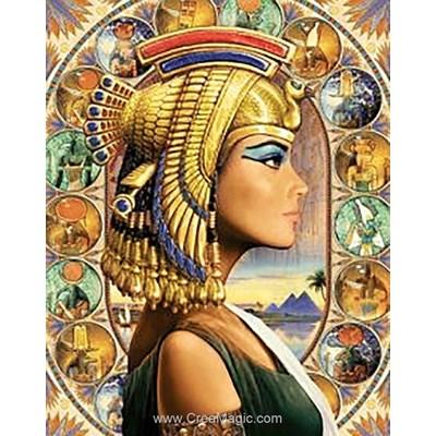 Broderie diamant Wizardi reine d'egypte