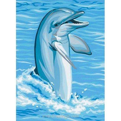 Jeux de dauphin canevas chez Royal Paris