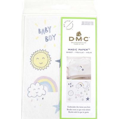 Feuille magique bébé, étoiles et lune - costum by me ! de DMC
