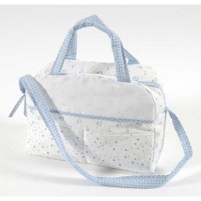 Sac nursery à broder baby star - bleu DMC