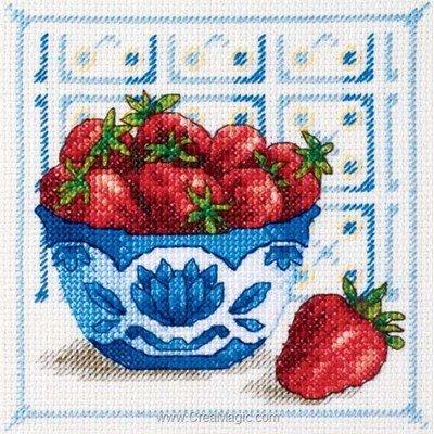 Broderie les fraises de Royal Paris