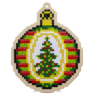 Broderie diamant christmas ball - noël - Wizardi