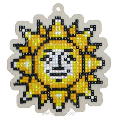 Broderie diamant le soleil de Wizardi