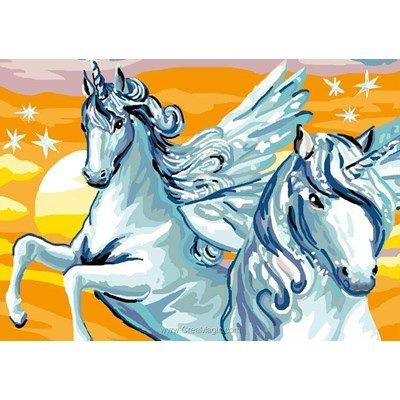 Luc Création canevas les licornes