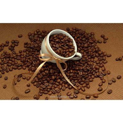 Broderie diamant grains de café - Diamond Painting