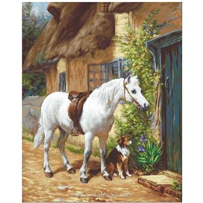 Le cheval et le chien de ferme kit - Luca-S