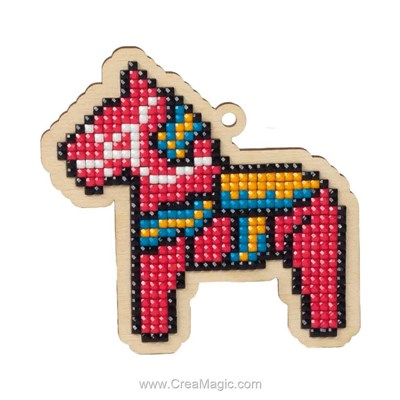 Broderie diamant Wizardi toy horse