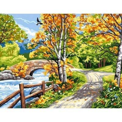 Sentier d'automne canevas - Rafael Angelot