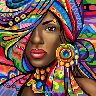 Broderie diamant africaine du ghana de Diamond Painting