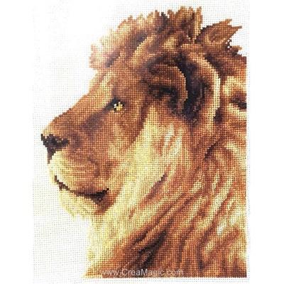 Le roi des animaux modèle broderie point de croix - Vervaco