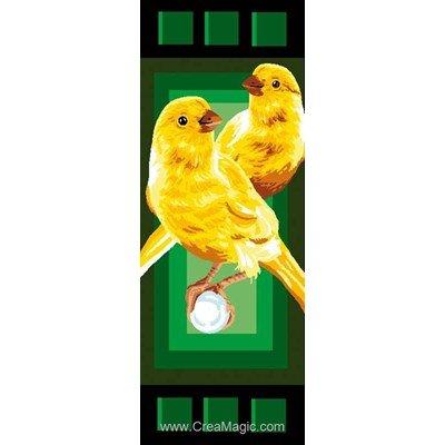 Canevas canaries - Luc Création