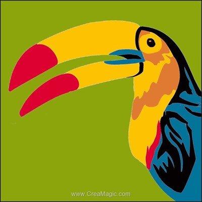 Canevas kit enfant complet pelican de Luc Création