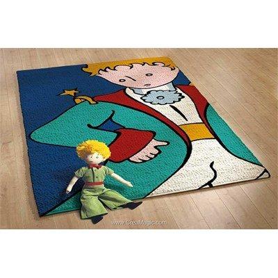 Kit tapis point noué portrait du petit prince - Smyrnalaine