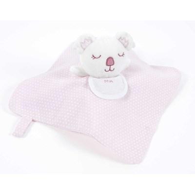 Doudou pour bébé à broder koala plat rose de DMC