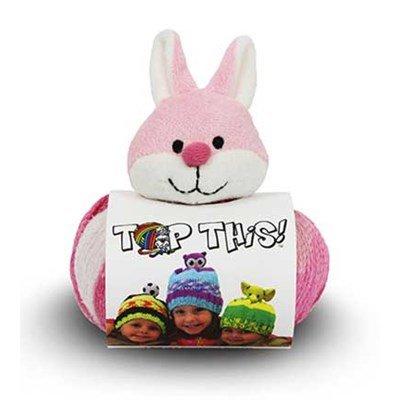 Pelote de laine this bonnet DMC mon petit lapin rose