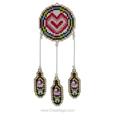 Broderie diamant love catcher de Wizardi