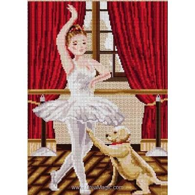 Kit broderie Luc Création danseuse classique