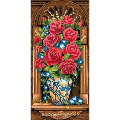 Broderie diamant antique bouquet de Diamond Painting