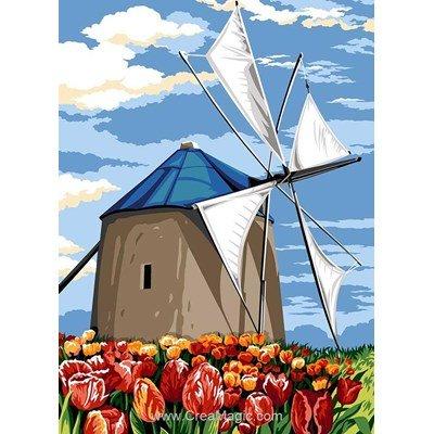 SEG canevas moulin à voile