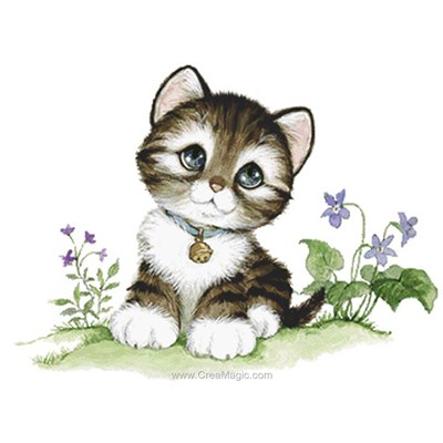Kit broderie diamant little kitten - Diamond Painting