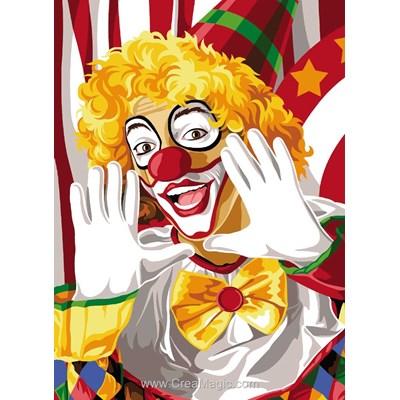 La joie du clown canevas - SEG
