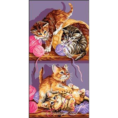 Canevas jeux de chatons de Royal Paris