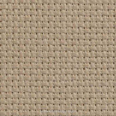 Toile aida 5.5 pts beige - gold standard - Charles Craft à broder