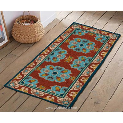 Kit tapis point noue carpet de Smyrnalaine