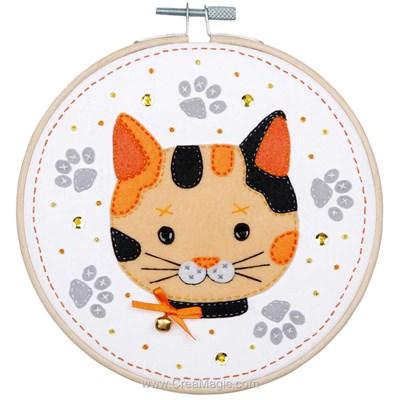 Kit feutre chaton - Vervaco