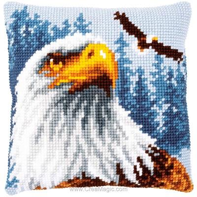 Coussin point de croix le grand aigle royal - Vervaco