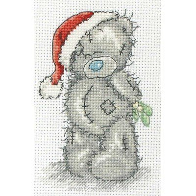 Broderie nounours et oursons me to you creamagic - Nounours noel ...