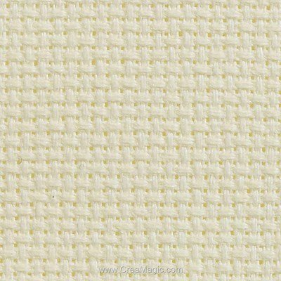 Toile aida 5.5 pts ivoire - gold standard - Charles Craft à broder