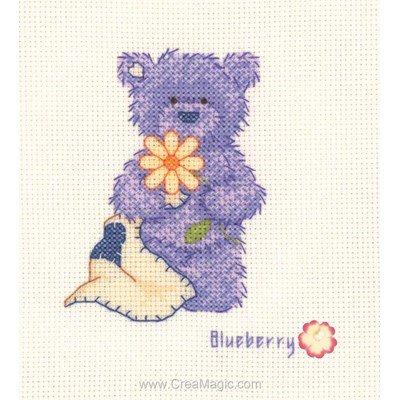 Blueberry - myrtille kit à broder - Popcorn