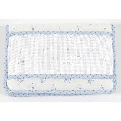 Protège carnet de santé naissance DMC baby star - bleu à broder
