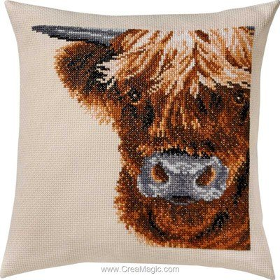 Coussin scottish highl cow - Permin