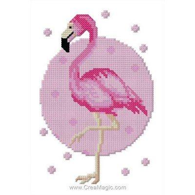 Mini kit flamant rose mini - Luc Création