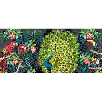 Paradis d'oiseaux exotiques canevas - Mimo Verde
