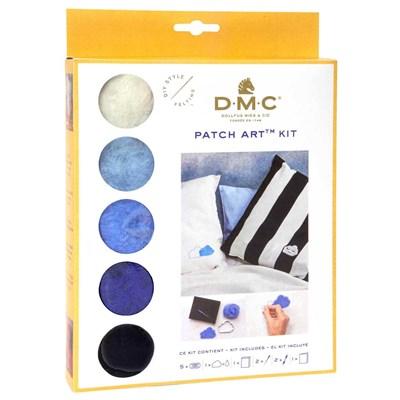 Kit patch art nuages et pluie - DMC
