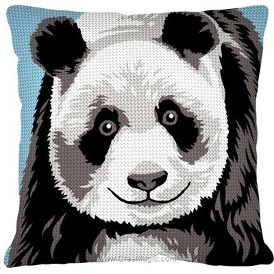 Kit coussin Margot mr panda au demi point