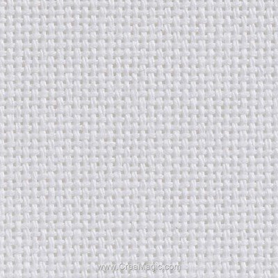 Toile monofil-royal 70 fils/cm blanc - Brod'star à broder