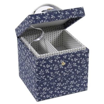 Boîte à couture en tissu marina -box lite de DMC