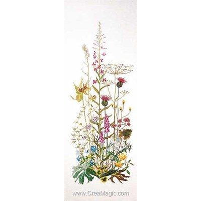 Wild flowers sur lin kit Thea Gouverneur à broder