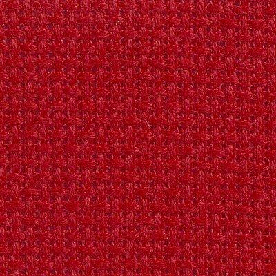 Toile aida 5.5 pts rouge carmin (321) de DMC à broder