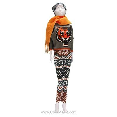 Couture kathy tiger DRESS YOUR DOLL pour barbie