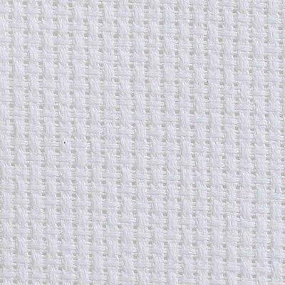 Toile aida 5.5 pts blanc à broder - DMC