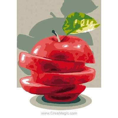 Luc Création canevas la pomme